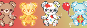 Four Bears by QTKiwi