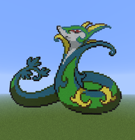 Minecraft- Serperior by Puppylover5