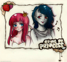 Adventure Time - Come on Princess by USSspecial