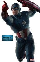 Captain America Render 2 by BoiUchiha