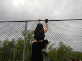 and one by one we all jump over this fence... by okamixcosplayer