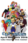 Cyphacon Poster II 2016 by Zicue