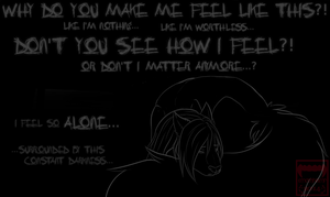 don't you see this depression?? [ V E N T ] by Emothivamp-Art