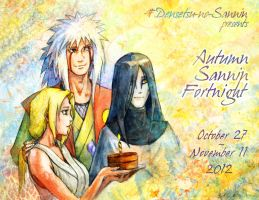 Autumn Sannin Fortnight - 2012 by Umaken