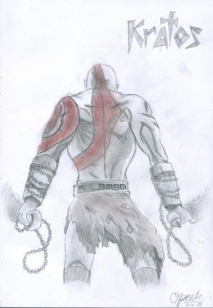 Kratos from God of War II