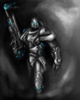 Shock trooper by x-asteroth-x