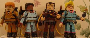 Real Ghostbusters miniMates by Derrico13
