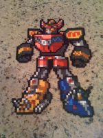 Power Rangers Megazord Perler by powerranger02