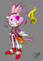 Doodle : Blaze (Thai Style) by Baitong9194
