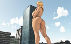 Vue giantess 51: Hum, what should i do now? by nyom87