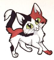 Calico Chibichat by CaptainMorwen