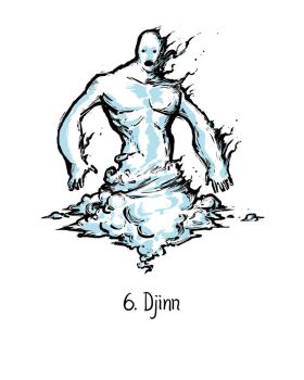 Djinn by genesischant