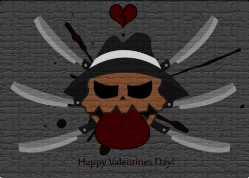 The Ripper Valentines Day Card by Cammmoman