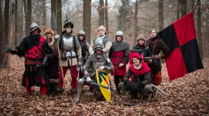 Cretins in Red - free group of larpers by Krushak-Dagra