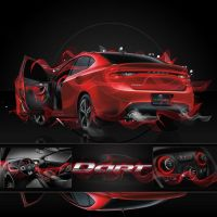 Dodge Dart Inspired Contest by Thre3Nil