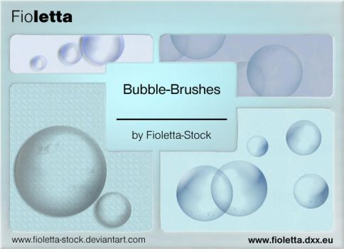 Bubbles-Brush by fioletta-stock