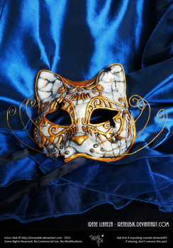 BioShock Splicer Cat Mask (Handmade) by IreneUbik