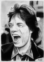 Mick Jagger drawing by alainmi