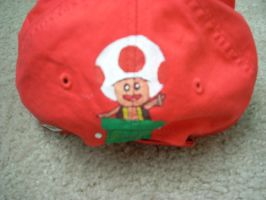 Mario Hat back Toad by SugiAi