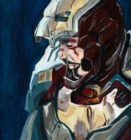 Tony Stark/Iron Man by meralc