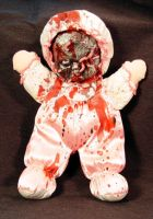 ROT TOT -Got Worms Wilma?-Ooak by Undead-Art