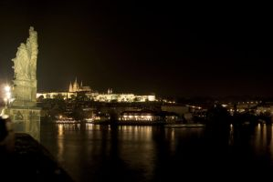 Prague by Night I by Hexaloner