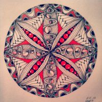 My Zendoodle 365-project, day 51 by Nadik
