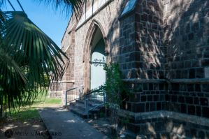 St Georges Anglican Church - Western door by Orihimetaichou