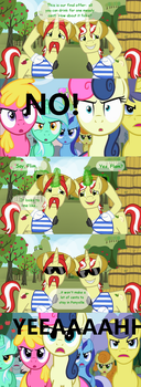 No Punny Business by Sunny-Rains
