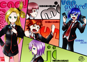 .: CFV : Miyaji Academy : Cardfight Club! V3 :. by L-Y-R-I-E
