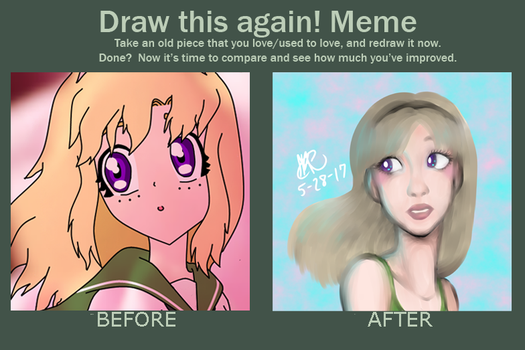 Draw this again (Girl) by ShatteredPorcelain32