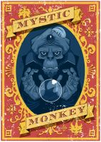 Mystic Monkey by Nemons