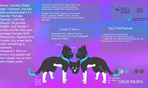 Sabe Official 2012 Reference Sheet by FluffehSabex