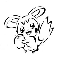 Emolga Cute but dangerous by awiede02