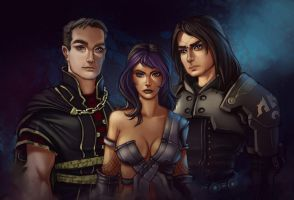 COM: Jac, Selika, and Marick by JNetRocks