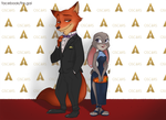 Oscars 2017: Nick and Judy by fra-gai