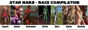 Star Wars - Race Compilation by Dendory