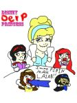 Disney Derp Princesses by MiZzy-IzZy