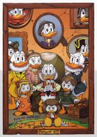 The McDuck Clan - Don Rosa by soercling-Hemstaer