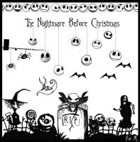 the nightmare before christmas by sophinka