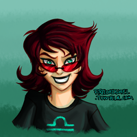 HumanStuck Terezi by FireLordWael
