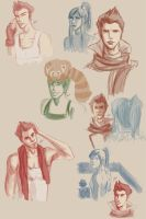 LoK Sketch Mess by jeminabox