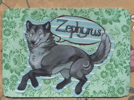 Zephyrus Badge by distome