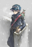 trunks with snow by guswl6730