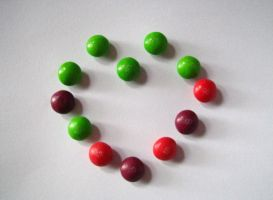 skittles heart by colorsofmyheart