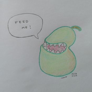 Feed Me by PizzaFisch