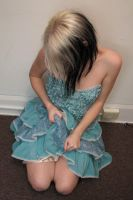 Blue Dress Stock 16 by KristabellaDC3