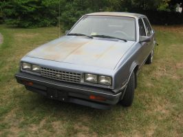 1984 Chevy Cavalier 3/4 front view by Reyphotos