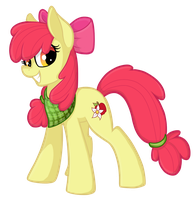 adult Applebloom by wingedwolf94