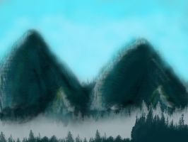 Mountains by tcw295